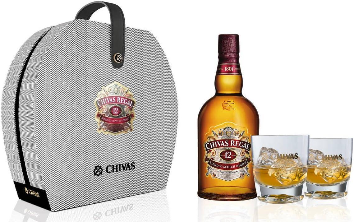 Estuche Whisky Chivas Regal 12 años: Amazon.es: Alimentación y bebidas