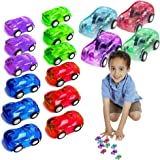 Toy Cubby Mini Pull Back and Go Fast Racing Car. 12 pcs