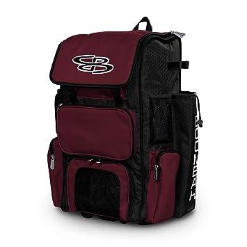 Amazon.com: Boombah bolsa grande con ruedas / bolsa para ...