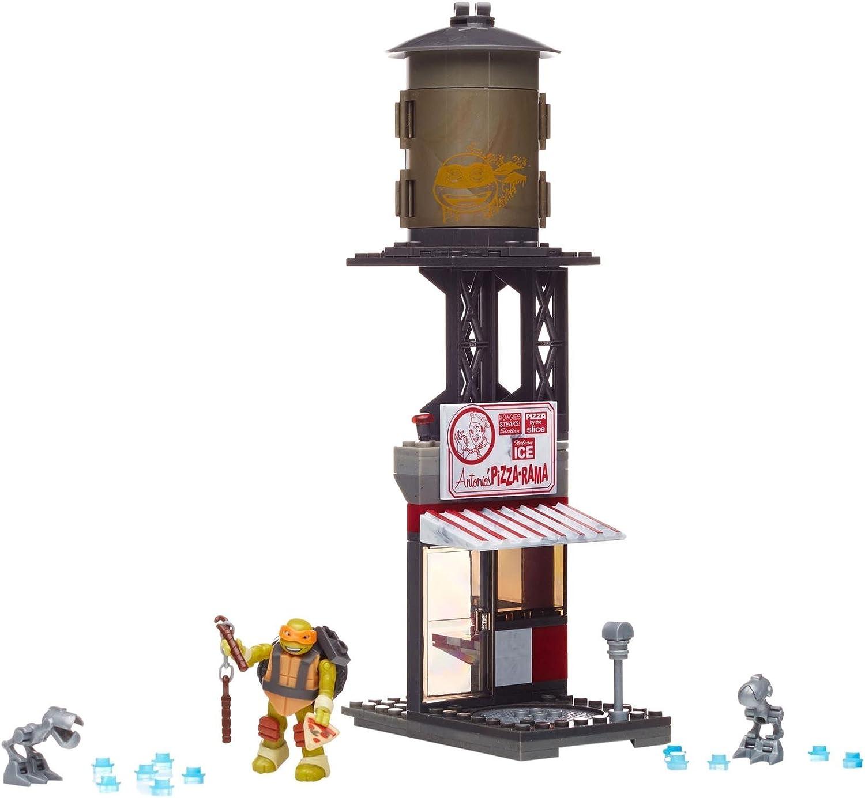 Mega Bloks Teenage Mutant Ninja Turtles Mikey Pizzeria Showdown Building Playset