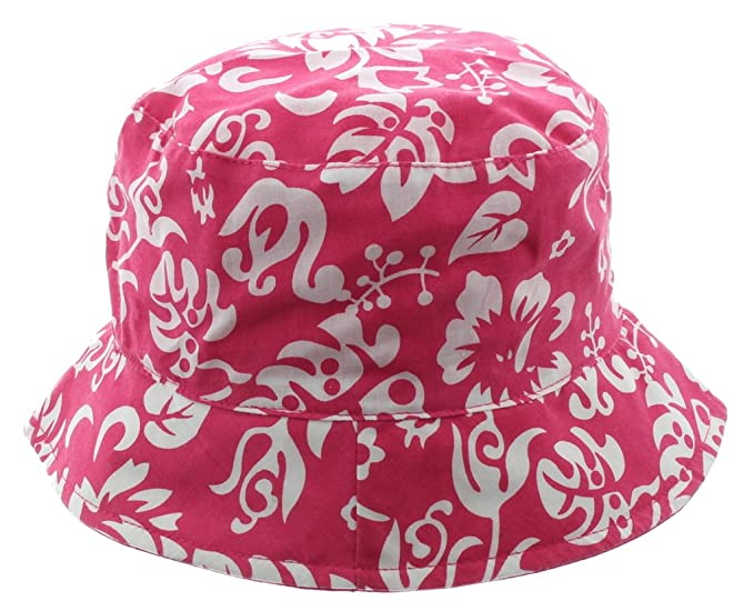 Boonie Hat-Pink Hawaiian Floral at Amazon Men s Clothing store  2e27b4bd30e