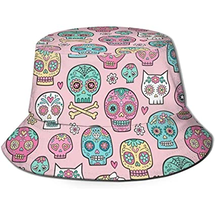 Sombreros de Cubo Unisex al Aire Libre Bridas Anchas Protección ...