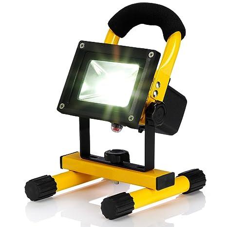 Portátil Potente LED Recargable Lámpara de Inundación