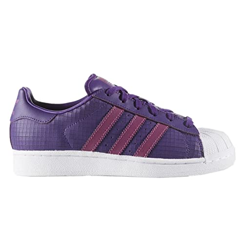 adidas C77154 - Botines de Cuero para Chico, Color Morado, Talla 37.3 Medium EU: Amazon.es: Zapatos y complementos