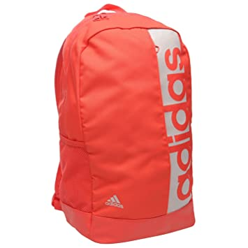 1ffc78be5f67 Adidas Linear Backpack Pink Sports Gym Bag Rucksack Carryall  Amazon ...