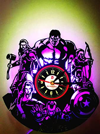 The Avenger Ultron Super Cool LED Lámpara Creative Tocadiscos ...
