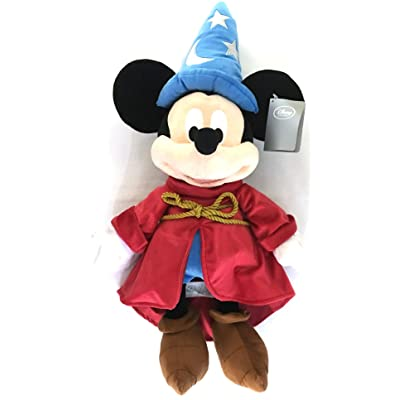 Disney Mickey Mouse Sorcerer 24in Plush - Mickey Stuffed Animal: Toys & Games