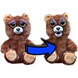 "William Mark Feisty Pets Sir Growls-A-Lot- Adorable Plush Stuffed Bear that Turns Feisty with a Squeeze, 8.5"" L"