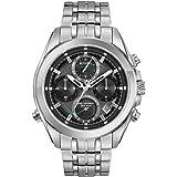 Bulova 96B260 Mens Precisionist Silver Steel Bracelet Chronograph Watch