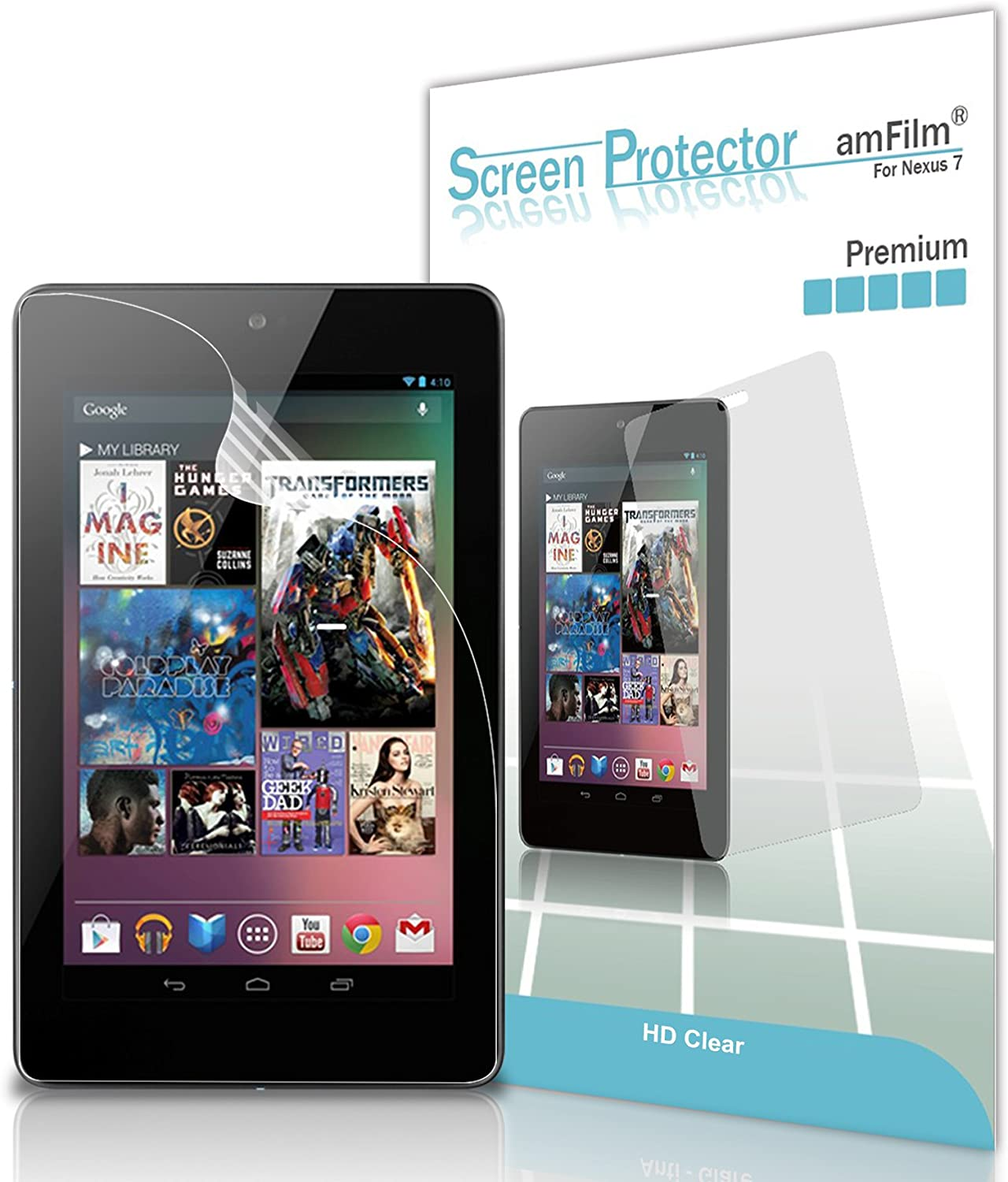 """Clear Tablet Glass Screen protector Guard For Samsung Google Nexus 10 10/"""""""