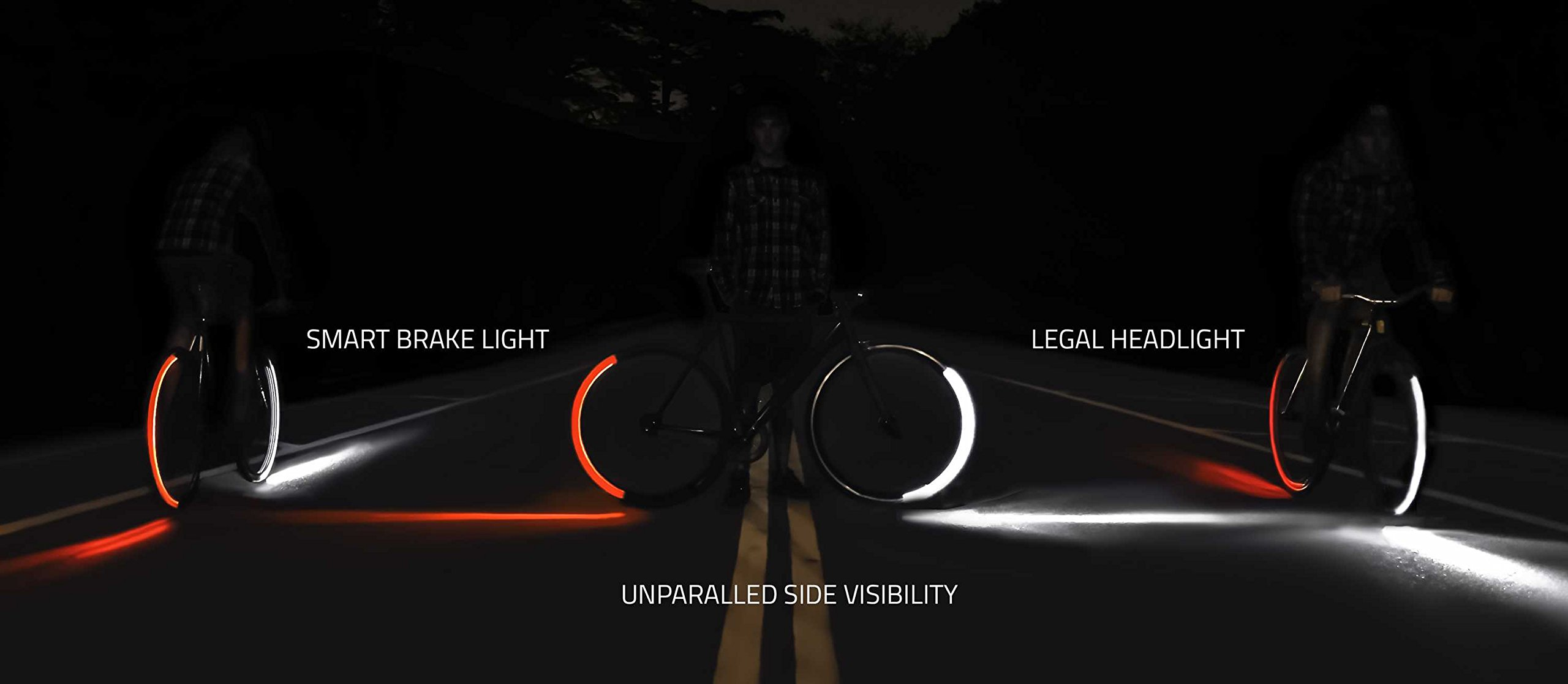 Revolights Eclipse Bicycle Lighting System, 700c/27-Inch by Revolights (Image #6)