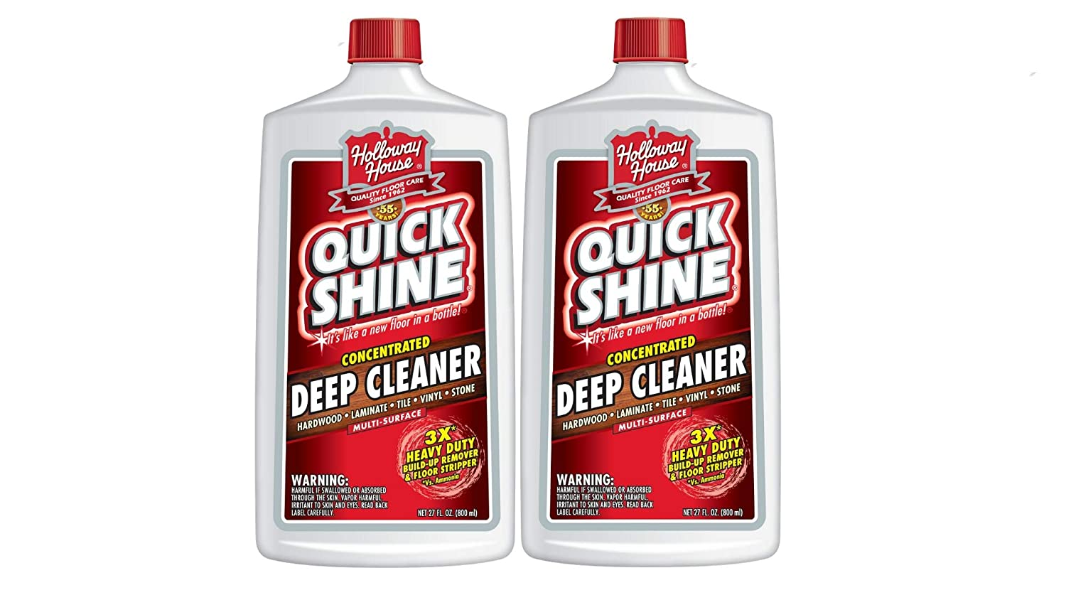 Amazon.com: Quick Shine Concentrated Deep Cleaner 27 Fluid Ounce, Single Bottle: Home & Kitchen