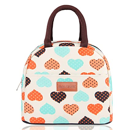cbdd658e683c BALORAY Lunch Bag Tote Bag Lunch Bag for Women Lunch Box Insulated Lunch  Container (G-197S Heart)