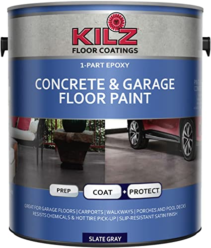 Kilz Epoxy Acrylic Concrete & Garage Floor Paint