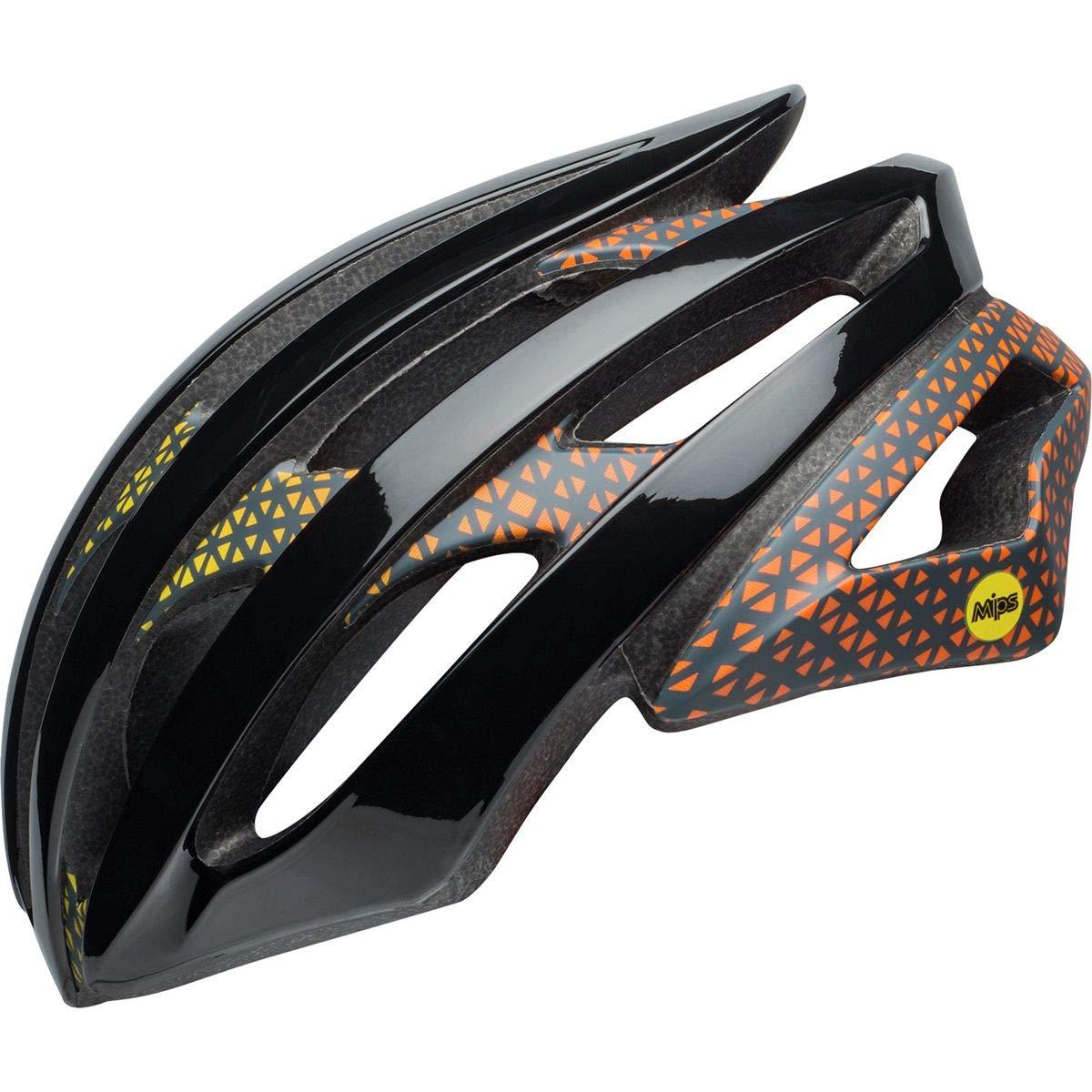 Bell Stratus MIPS Helmet Circuit Matte/Gloss Black/Yellow/Orange, S