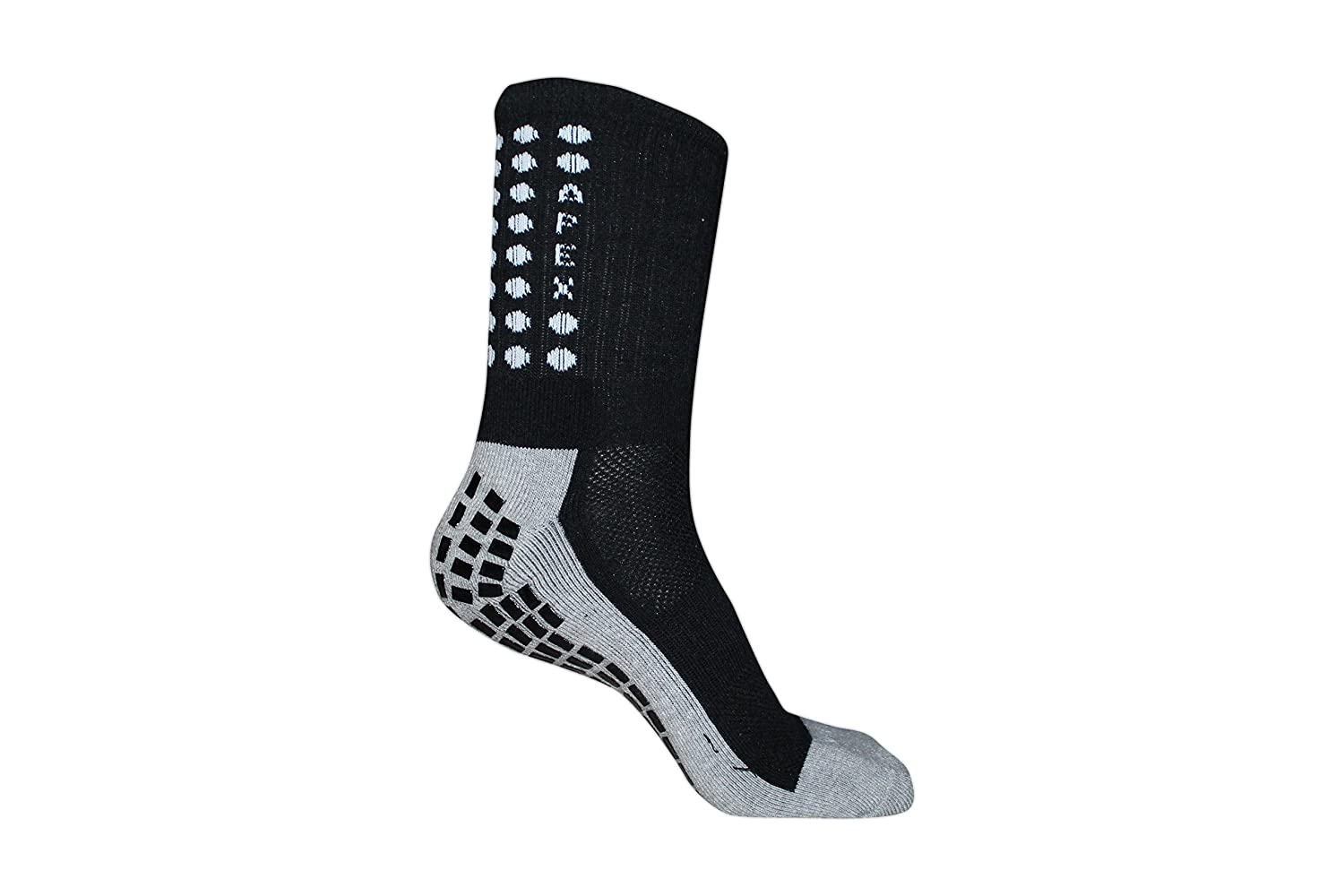 #1 Non Slip Sport Socks, The Best Traction Technology Inside And Outside Of Socks, No More Blisters, Grip Socks by Apex