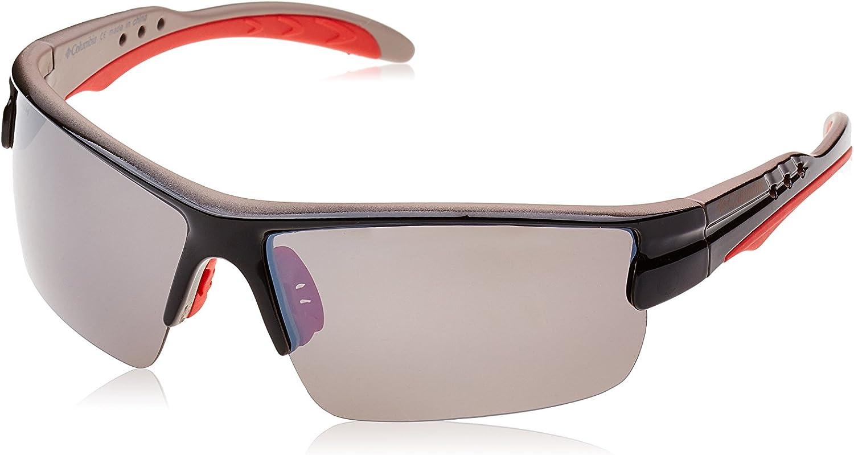 Columbia Sunglasses 902 01 Shiny Black Grey Polarized