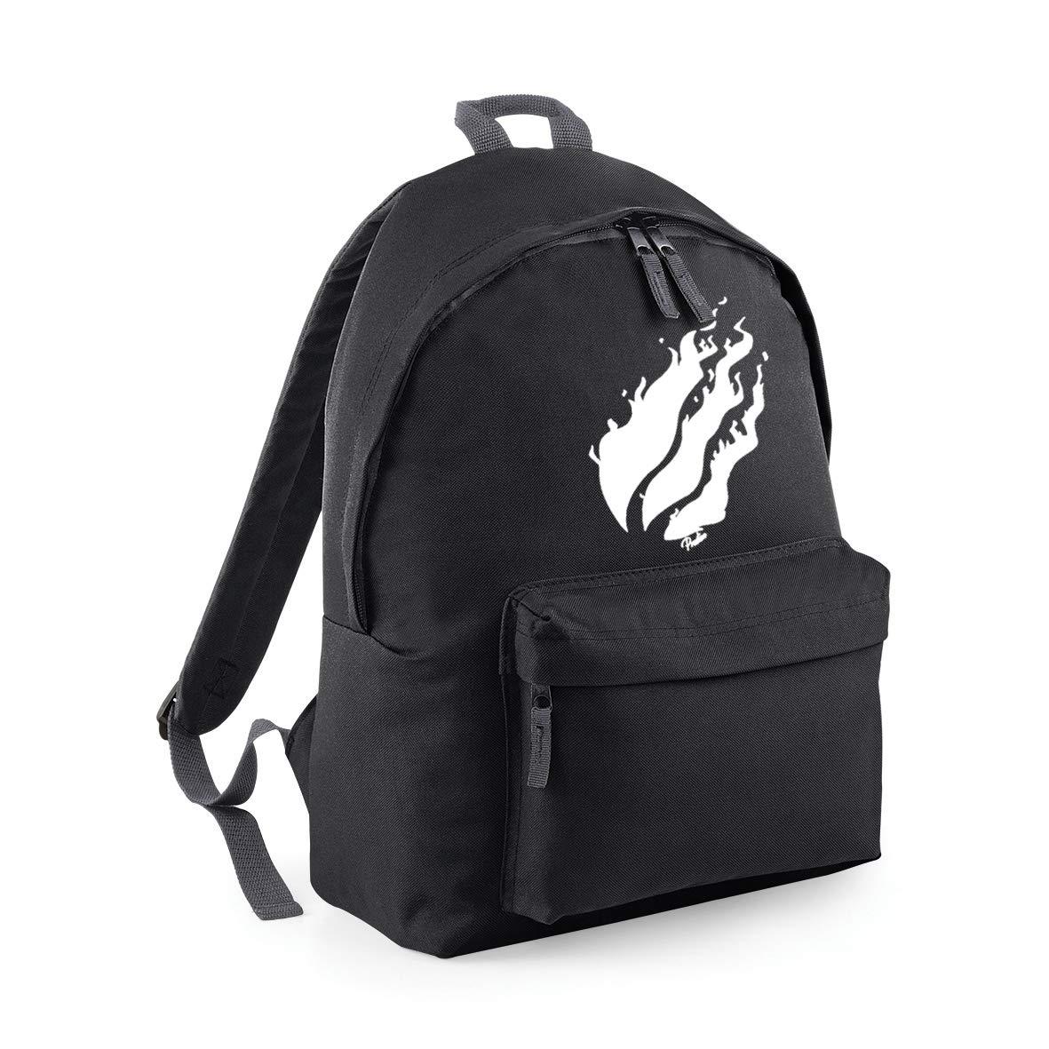 Pumukli Prestonplayz White Flame Bagbase Fashion Backpack School Bag 42 x 32 x 21 cm