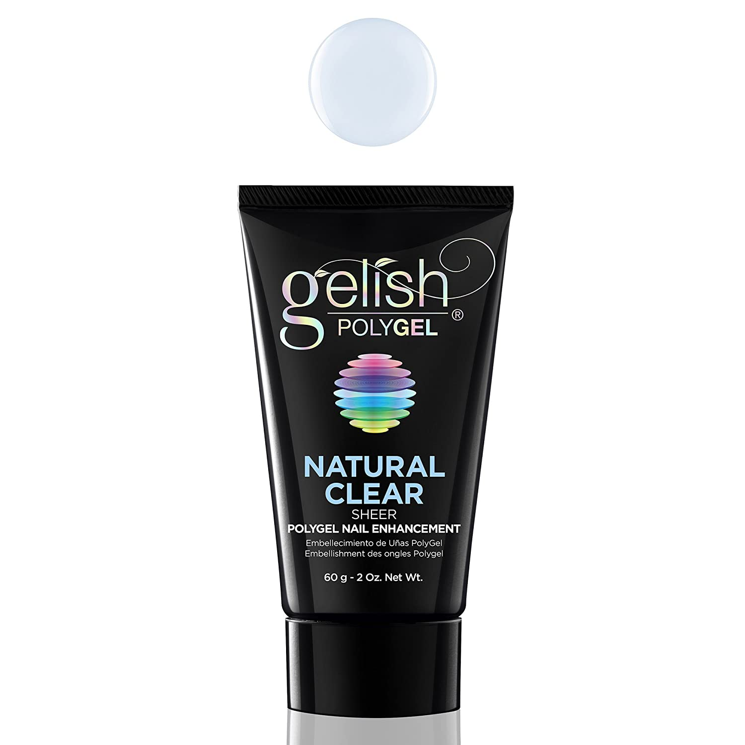 Amazon.com: Gelish PolyGel Nail Enhancement Natural Clear Sheer ...