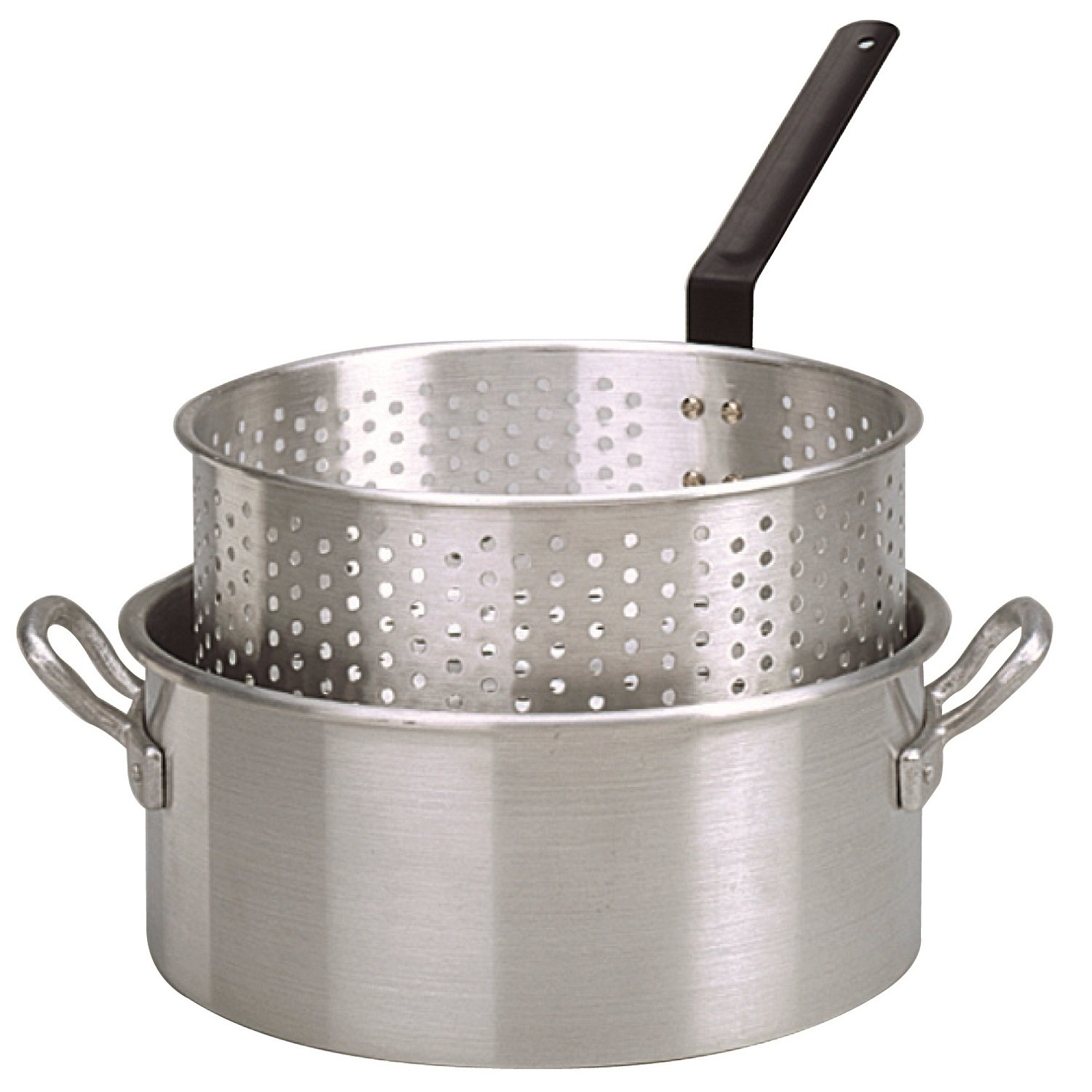 King Kooker KK2 9-Quart Aluminum Fry Pan with Basket by King Kooker