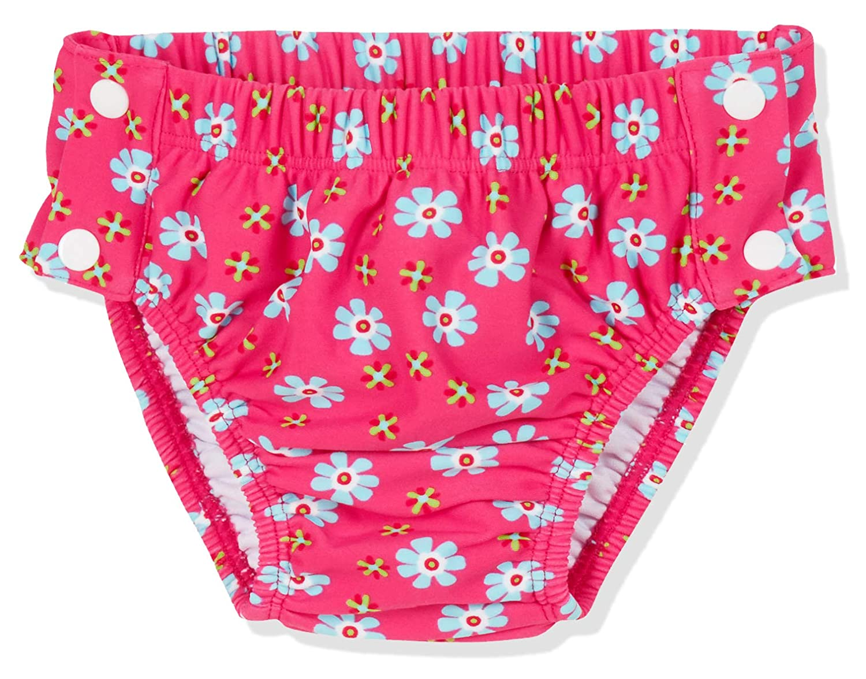 Playshoes Baby-M/ädchen Uv-Schutz Windelhose Erdbeeren Zum Kn/öpfen Schwimmwindel