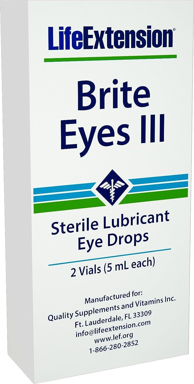 Life Extension Bright Eyes III, 2 tubes, 5 ML each: Amazon.es: Salud y cuidado personal
