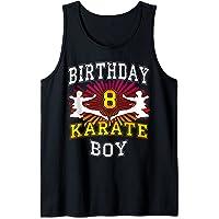 Niño de 8 años - Karate niño de 8 años Camiseta sin Mangas