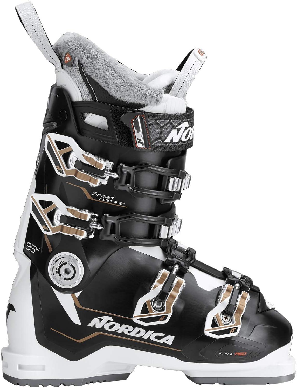 Nordica Speedmachine 95 スキーブーツ レディース 黒/白い/Bronze