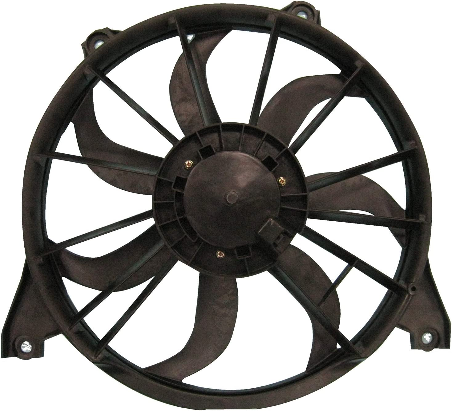TYC 622520 Replacement Cooling Fan Assembly for Dodge Journey