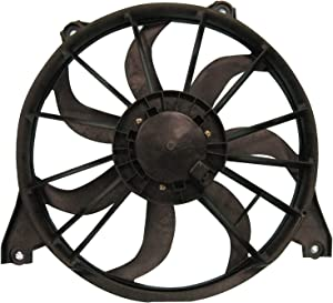 TYC 622520 Replacement Cooling Fan Assembly Compatible with Dodge Journey