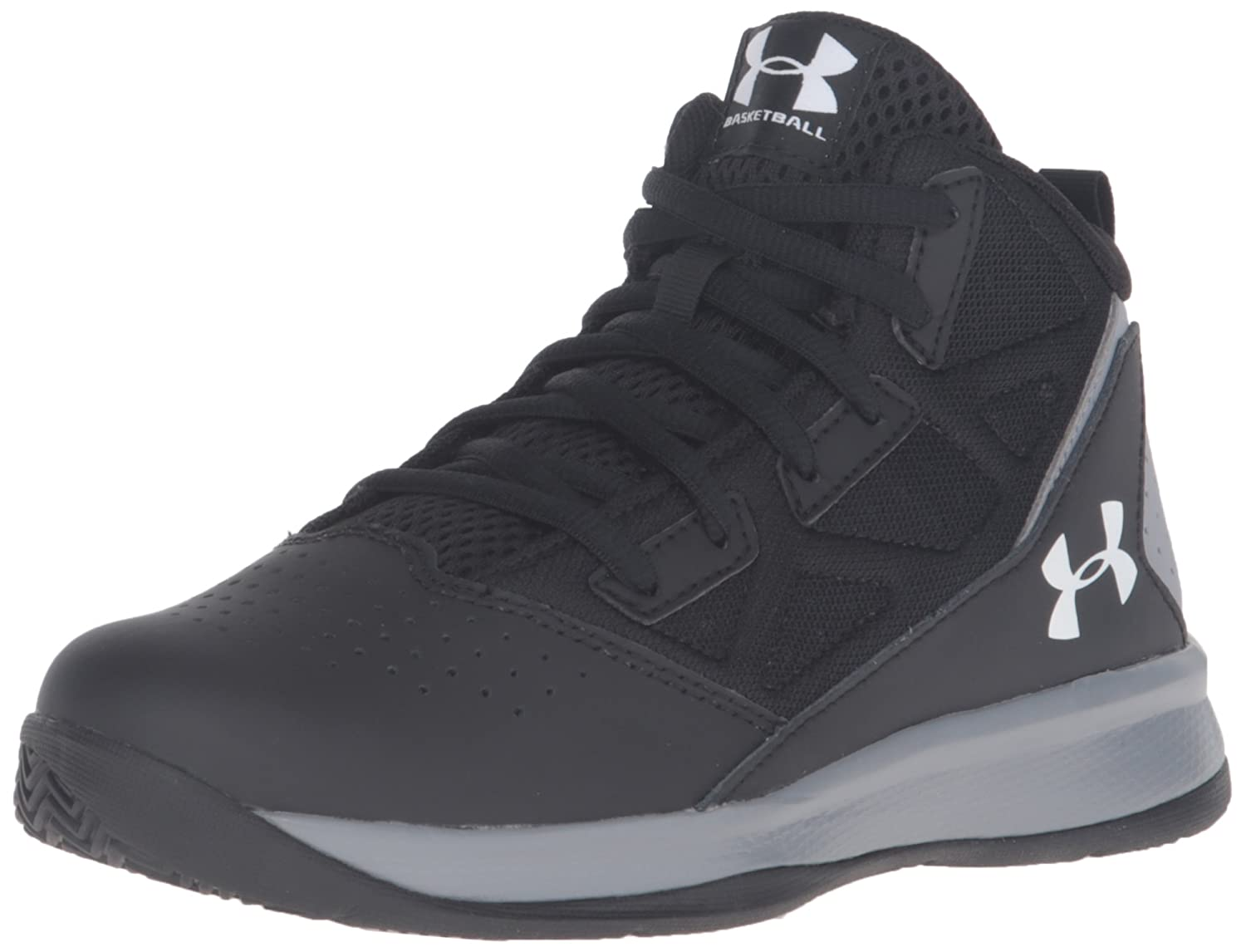 b978f814fac Under Armour Kids  Boys  Pre School Jet Mid Basketball Shoe