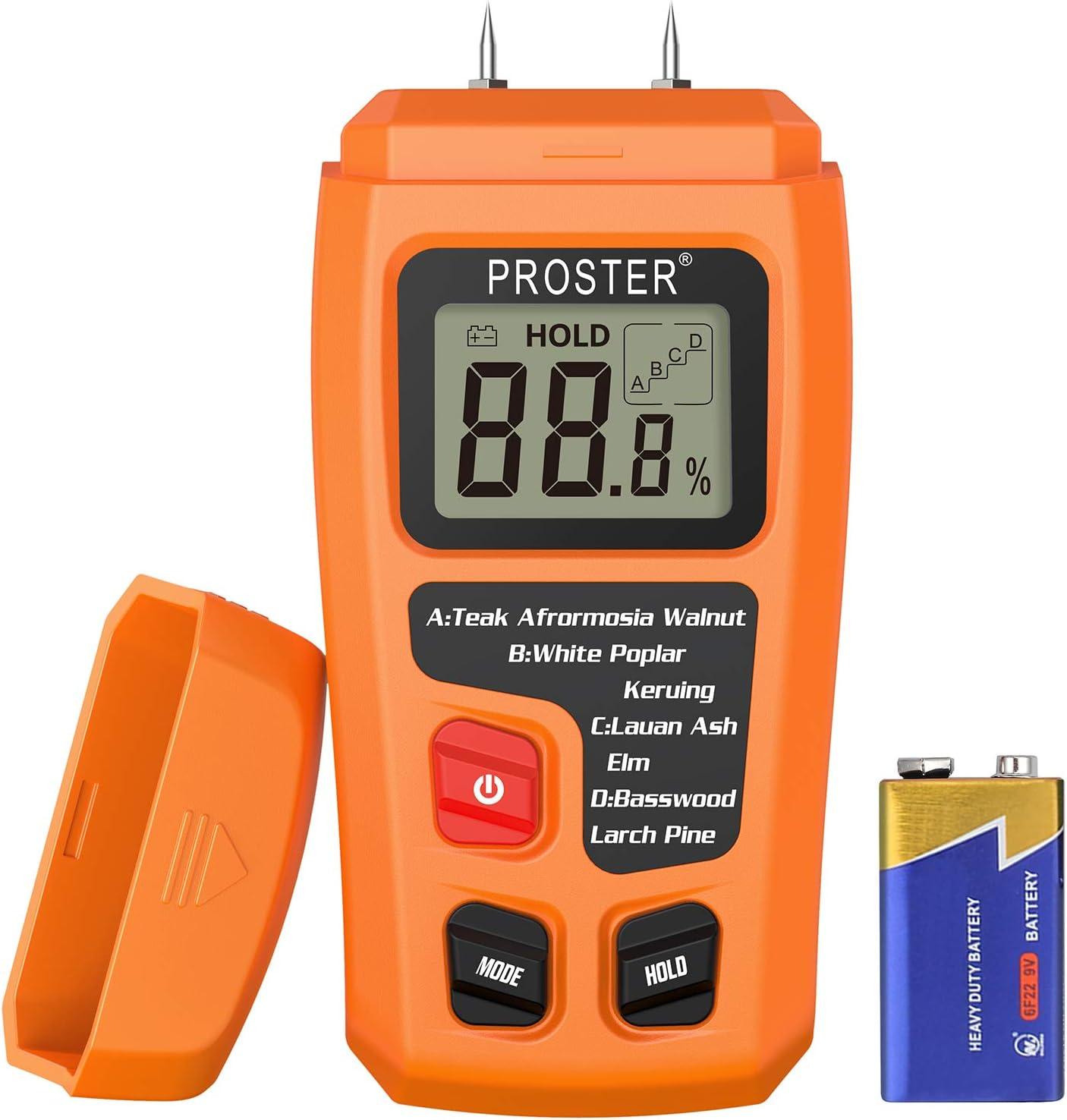 Proster Handheld Wood Moisture Test Meter