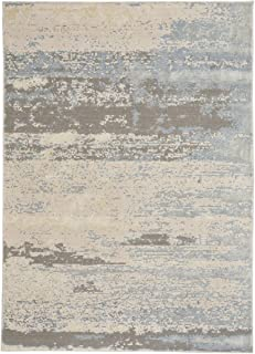 product image for Capel Rugs Kathmandu Machine Woven Area Rug, 8' x 11', Pale Beige Multi