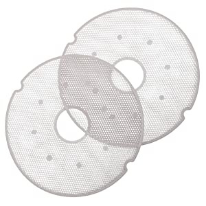 Nesco LM-2 Clean-A-Screen for Dehydrators FD-28JX, FD-37, FD-39, FD-60, FD-61, FD-61WHC, FD-75PR, and FD-75A, Set of 2