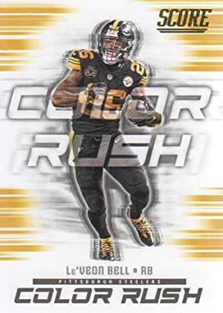 free shipping 83b67 c7c6f 2018 Score Football Color Rush Gold #12 Le'Veon Bell ...