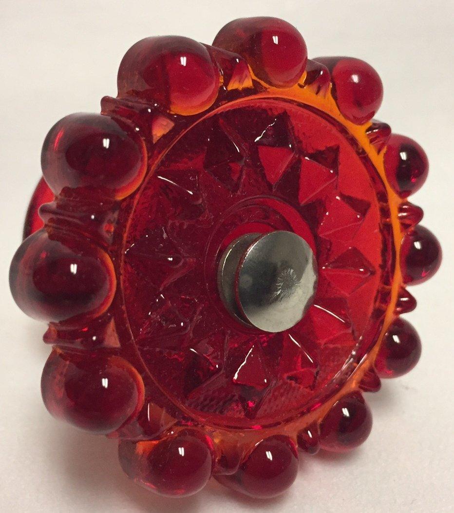 Glass Knob Drawer Pull Handle - Mosser USA - American Made (Milk)