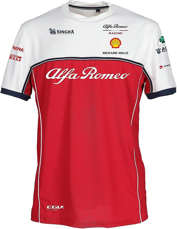 Alfa Romeo Racing F1 2019 Men's Team T-Shirt (S)