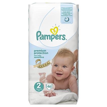 Pampers Premium Protection Pañales para recién nacido, para piel ...