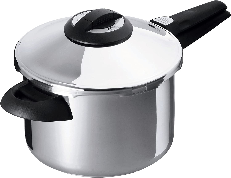 Kuhn Rikon Duromatic Top Model Energy Efficient Pressure Cooker - 7.4-Qt