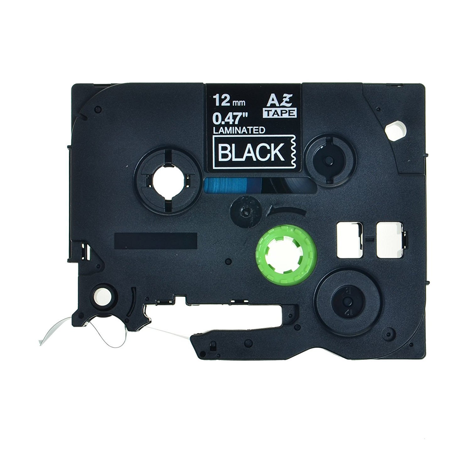 3 PK TZ TZe 335 TZ335 White on Black Label Tape For Brother P-Touch PT-2310 12mm