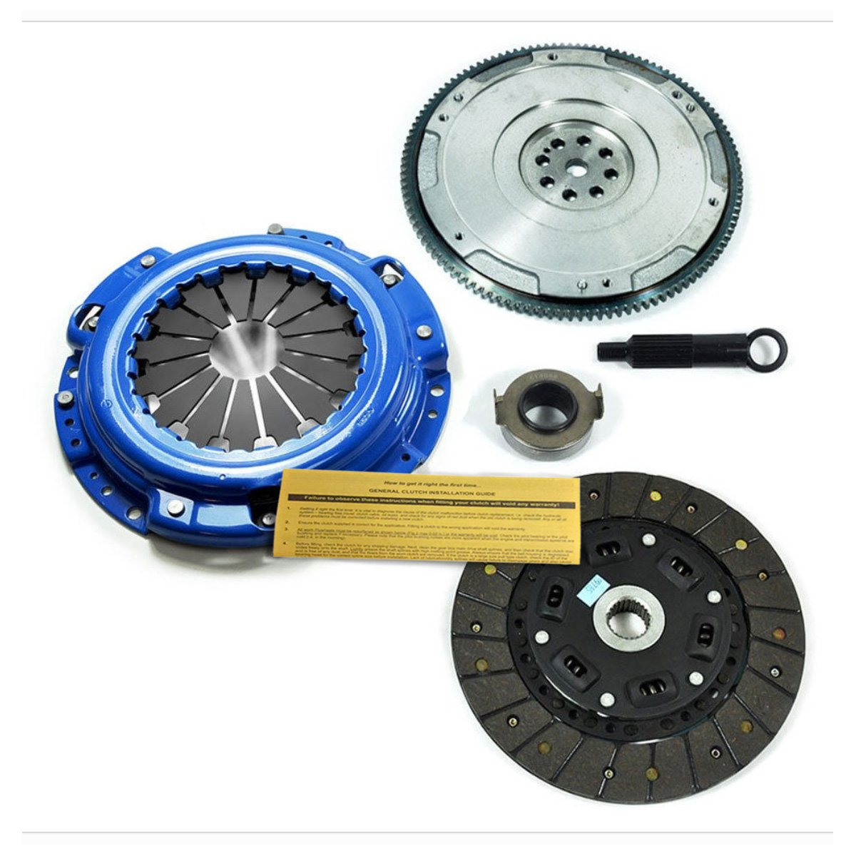 EFT STAGE 1 SPORT CLUTCH KIT & CAST FLYWHEEL FOR HONDA ACCORD PRELUDE 2.2L 2.3L