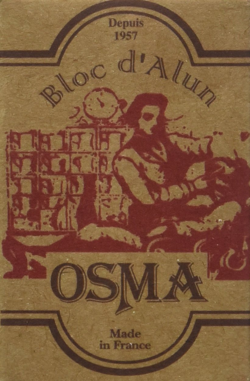 Osma Alum Block 2.65 Ounces -  Pack of 2 by Osma