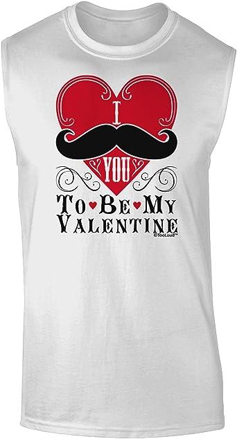 TooLoud I Mustache You a Question Muscle Shirt