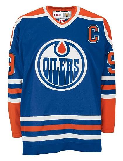 timeless design a4246 8bbdc NHL Edmonton Oilers Wayne Gretzky #99 Heroes of Hockey Jersey