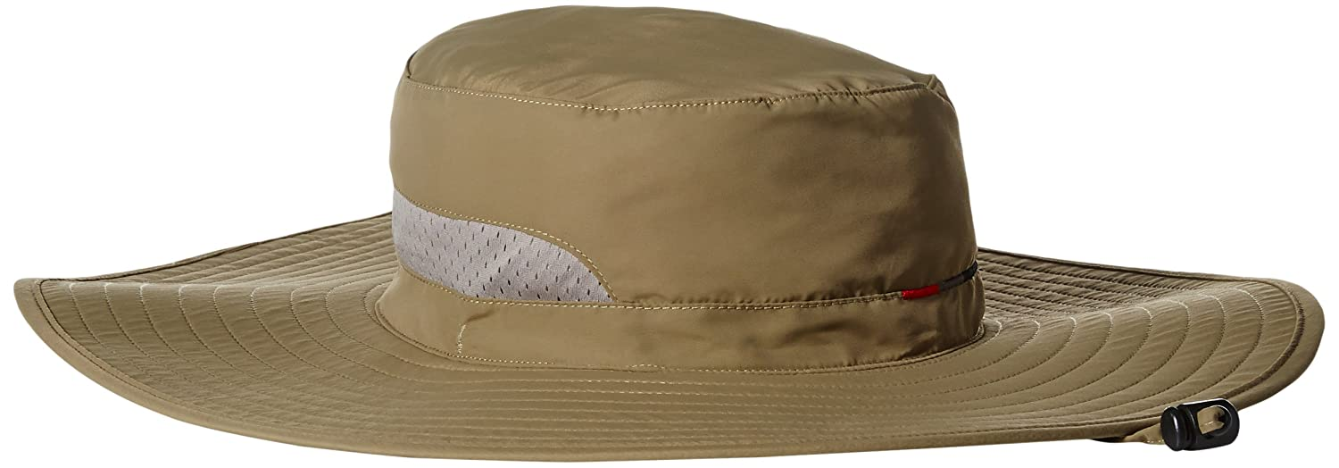 ec6a86b78faad San Diego Hat Co. Men s 5.2 Outdoor Wide Brim Sun Snap Pocket and Removable  Chin Cord