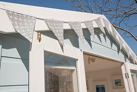 D-C-Fix ® jardín bandera de banderines de PVC 12 3,5 m