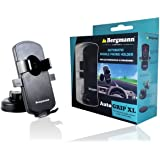 Bergmann Auto Grip Automatic Mobile Holder (XL, Black)