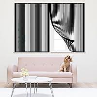 Magnetic Fly Screen Window, Magnetic Window Screen, Mesh Gordijn, Venster Gaas Gordijn, Automatische Sluiting…