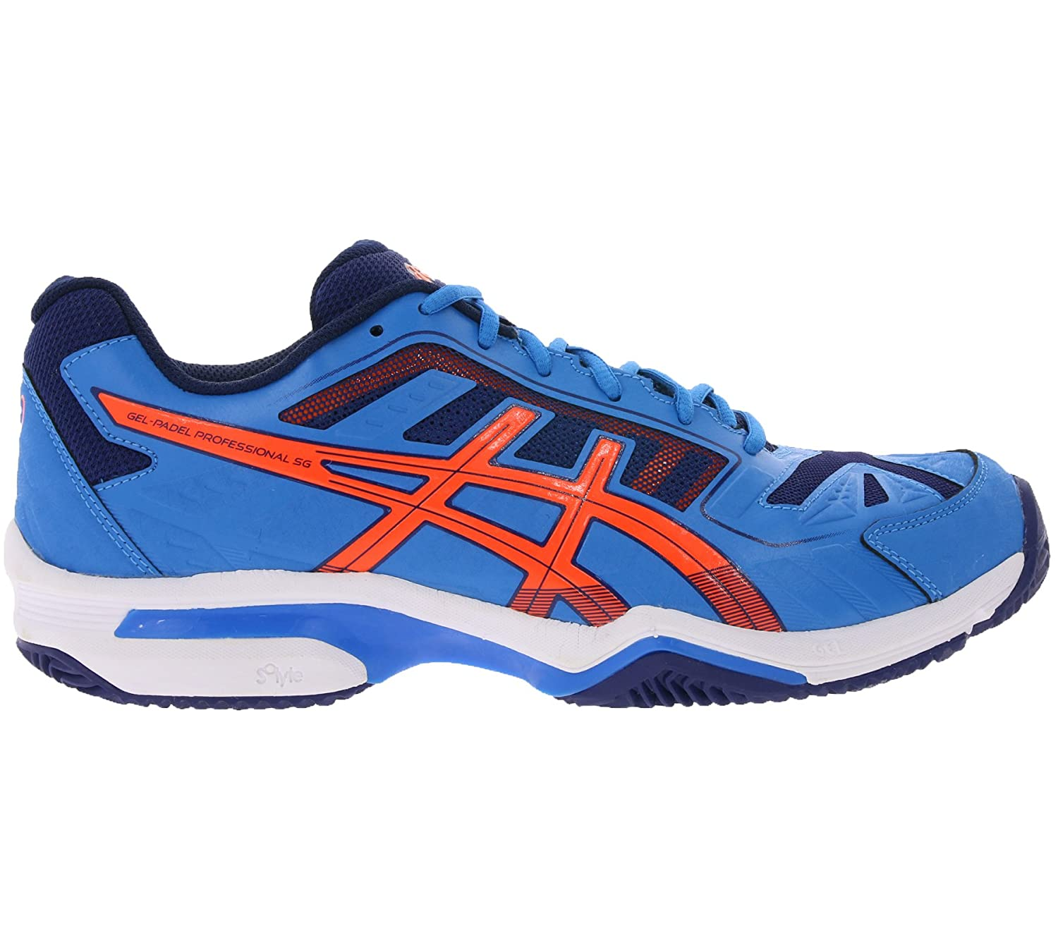 310ed09b0 ASICS Gel Padel Professional 2 SG e514 N 16 Men blue Azul Naranja Size 46 1  2  Amazon.co.uk  Sports   Outdoors