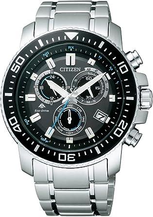 ef29718311 [シチズン]CITIZEN 腕時計 PROMASTER プロマスター エコ・ドライブ 電波時計 クロノグラフ ランドシリーズ
